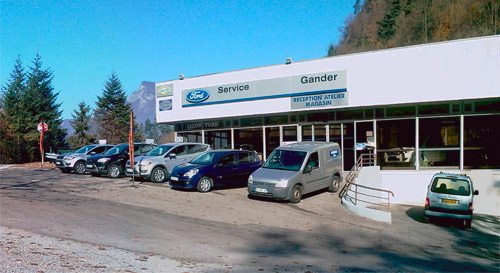 Garage gander 74 r parations vente neufs v hicules for Garage ford annecy 74